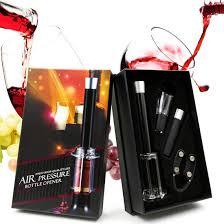 <b>4 in 1 Wine</b> Bottle Opener Cork Remover Air Pump Pressure ...