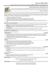 senior web designer resume sample with profile information sample web designer resume web design resume example