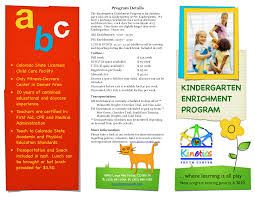 best photos of examples of brochures samples sample brochures kindergarten brochure samples
