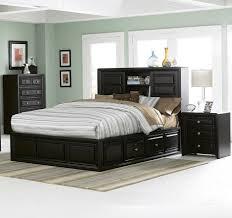 full size of storage fascinating black mahogany wood king platform bed with storage bookcase headboard awesome black painted mahogany