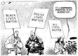 Image result for White Lives Matter CARTOON