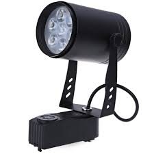 <b>Modern 7W LED</b> Track light Ceiling Down Lamp <b>Spotlight</b> Black ...