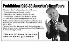 Gene Amondson's Mission - Bring Back Prohibition