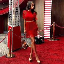 <b>Deer Lady Women</b> Bandage Dress <b>2019</b> Summer <b>Sexy</b> Dress Red ...