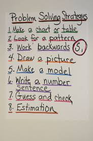 best images about math problem solving problem problem solving strategies