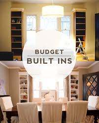 Built In Cabinets Dining Room Keep Smiling Diy Dining Room Built Ins