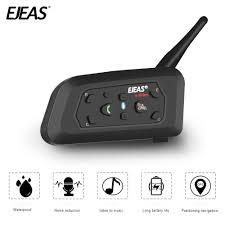 <b>EJEAS V6 PRO Bluetooth</b> Motorcycle Intercom Helmet Headset ...