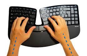 Resultado de imagen para teclados ergonómicos