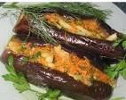 Квашеных баклажанов с морковью и чесноком