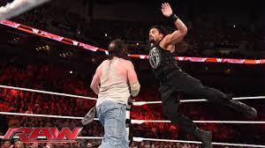 Roman Reigns vs. Luke Harper: Raw, Aug. 17, 2015 - YouTube