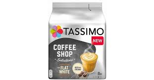 <b>Кофе</b> в капсулах <b>Tassimo Coffee</b> Shop Selections <b>Flat</b> White (8 капс ...