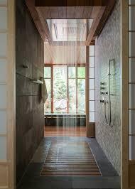 design walk shower designs: textured rustic style walk in shower design