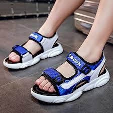 <b>Boys sandals 2019 new</b> summer Korean children soft bottom boy ...