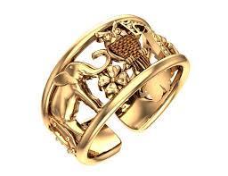 """<b>Золотое кольцо без вставок</b> """"Счастье"""" — Покровский ювелирный ..."""