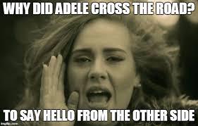 adele hello Meme Generator - Imgflip via Relatably.com