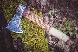 Handmade <b>Viking Axe</b> - Eagle | Пенопласт, Боевой топор, Декупаж
