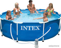 <b>Intex Metal Frame 305х76</b> (56999/28202) каркасный бассейн ...