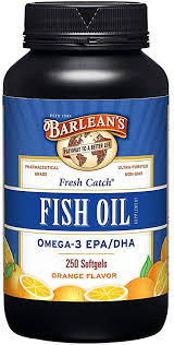 Barlean's Fresh Catch Fish Oil, Omega-3, 1000mg ... - Amazon.com