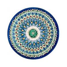 Купить Узбекистан <b>Тарелка 25 см</b>, цена 550 : Посуда из ...