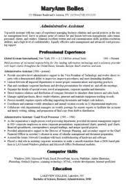 ideas about administrative assistant resume on pinterest    administrative assistant resume example