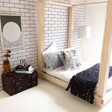 diy dollhouse furniture modern miniatures miniature bed follow me on instagram vintage modern dollhouse furniture 1200 etsy