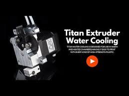<b>titan</b> AQUA extruder water cooling Installation guide - YouTube