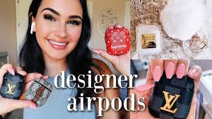 trying <b>designer airpod cases</b> *gucci, louis vuitton, etc.* - YouTube