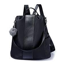 Women Backpack Purse Waterproof Nylon Anti-theft ... - Amazon.com