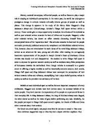 essay things fall apart chinua achebe  brilliant essays   www  essay things fall apart chinua achebe