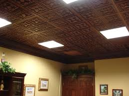 Ceiling Tiles For Kitchen Kitchen With White And Black Cabinets Also Tin Ceiling Tiles