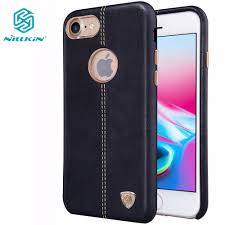 Nillkin Englon leather cover for Apple iphone 8 <b>luxury Leather case</b> ...