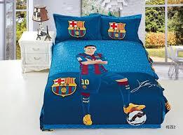 2015 new 100 cotton kids football barcelona bedding set king queen macey duvet cover 3 barcelona bedroom