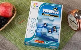 Настольная <b>логическая игра Мини</b>-<b>пингвины Bondibon</b> купить ...