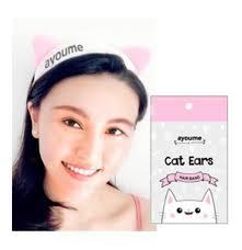 <b>Повязка для волос</b> AYOUME <b>Hair</b> Band Cat Ears - купить по ...