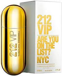 <b>Carolina Herrera 212 VIP</b> Eau de Parfum spray 80 ml: Amazon.co.uk ...