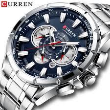 Wristwatch Mens CURREN 2019 <b>Top</b> Brand <b>Luxury Sports Watch</b> ...