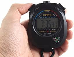 Challen <b>Waterproof Digital LCD</b> Stopwatch Chronograph Timer ...