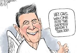 Image result for Reagan CARTOON
