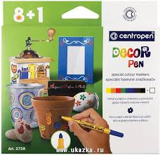 "<b>Набор маркеров</b> для декорирования <b>Centropen</b> ""Decor Pen 2738 ..."