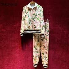 <b>Svoryxiu</b> Designer <b>Autumn</b> Vintage Baroque Printed Trousers ...