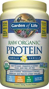 Garden of Life <b>Raw Organic Protein</b>, Vanilla, 624g: Amazon.ca ...