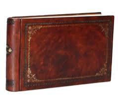 Купить <b>кожаный фотоальбом</b> Тезоро с книжным переплетом и ...
