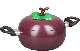 "<b>Кастрюля Pomi d'Oro</b> ""<b>Vegetto</b>"", с крышкой, цвет: фиолетовый, 2,2 ..."