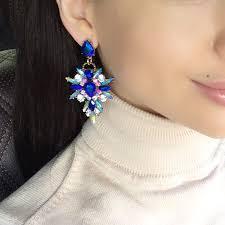 Hot Colorful Flower <b>Big</b> Brand Design <b>Luxury Rhinestone</b> Starburst ...