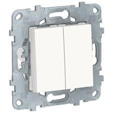Перекрестный <b>переключатель Schneider Electric NU521518</b>, белый