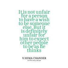 Unfair People Quotes. QuotesGram via Relatably.com