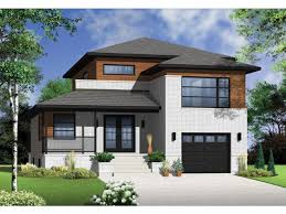 ePlans Contemporary Modern House Plan   Contemporary On Many    ePlans Contemporary Modern House Plan   Contemporary On Many Levels   Square Feet and Bedrooms from ePlans   House Plan Code HWEPL