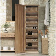 mobel oak tall shoe cupboard buy online at wooden furniture store baumhaus mobel oak medium