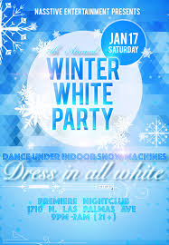 7th annual winter white party hollywood club crawl winter white party flyer 2015 nolink