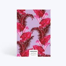 <b>Pink Palms</b> | Notebook | Papier